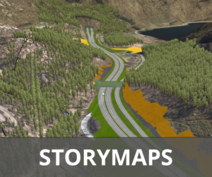 E39 Mandal - Lyngdal øst storymaps